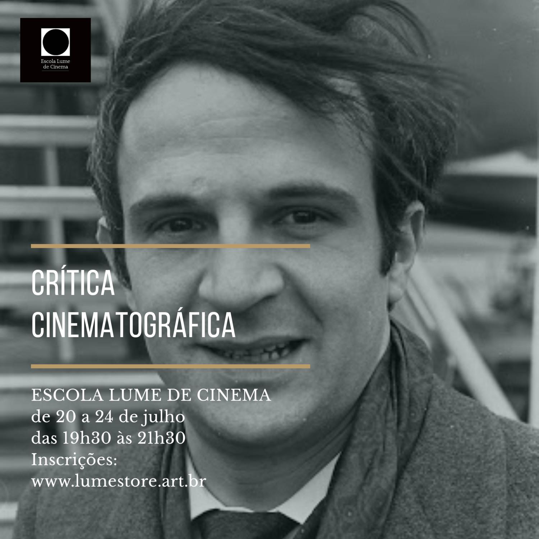 CURSO - CRÍTICA CINEMATOGRÁFICA