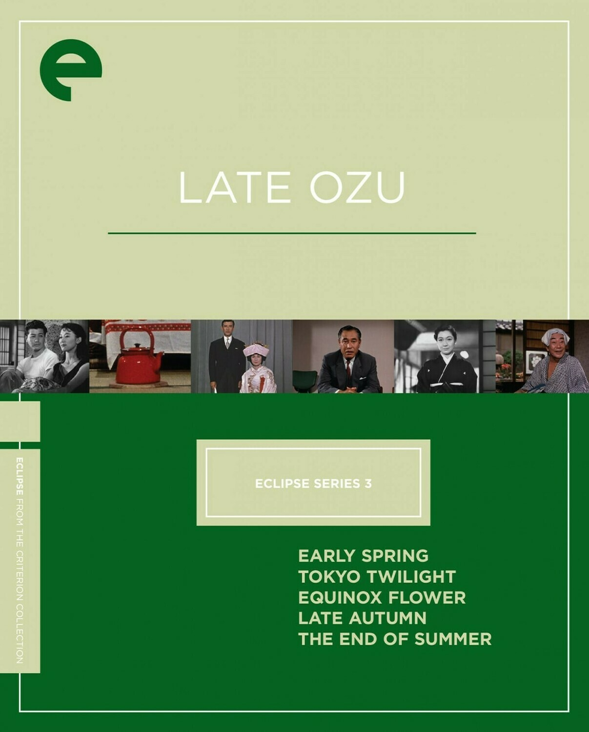 LATE OZU - BOX SET - DVD