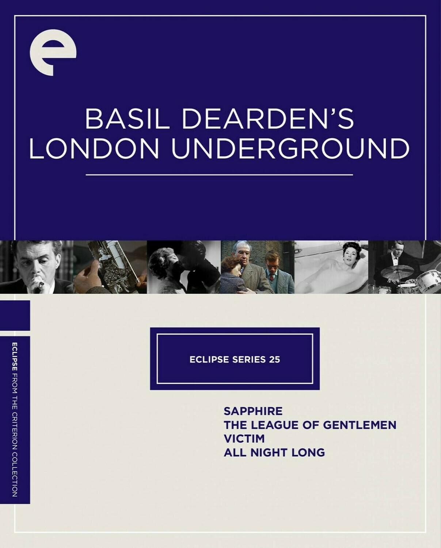 BASIL DEARDEN'S LONDON UNDERGROUND - BOX SET - DVD