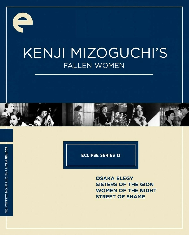 KENJI MIZOGUCHI - FALLEN WOMAN - BOX SET - DVD