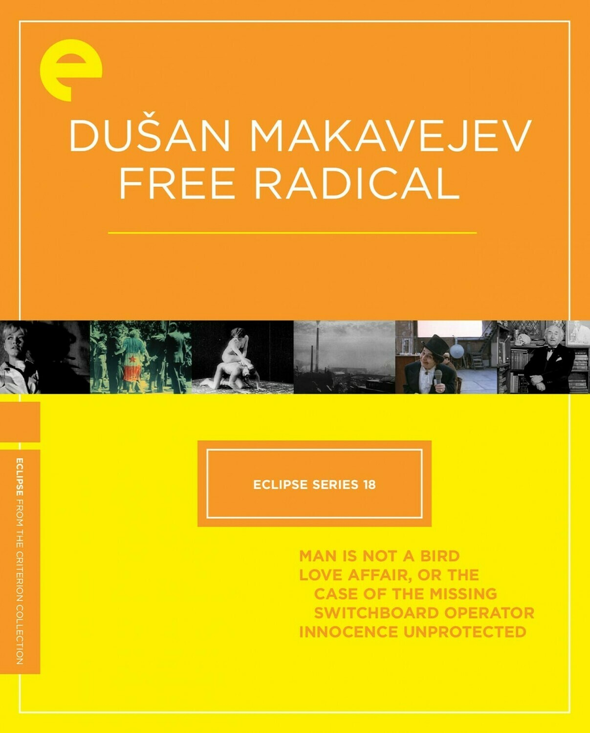 DUSAN MAKAVEJUV - FREE RADICAL - BOX SET - DVD