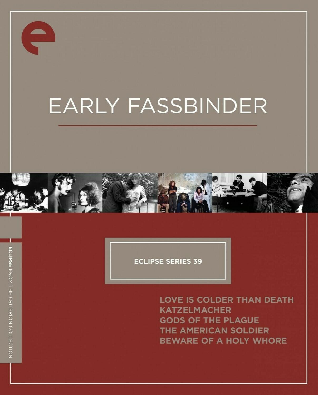 EARLY FASSBINDER - BOX SET - DVD