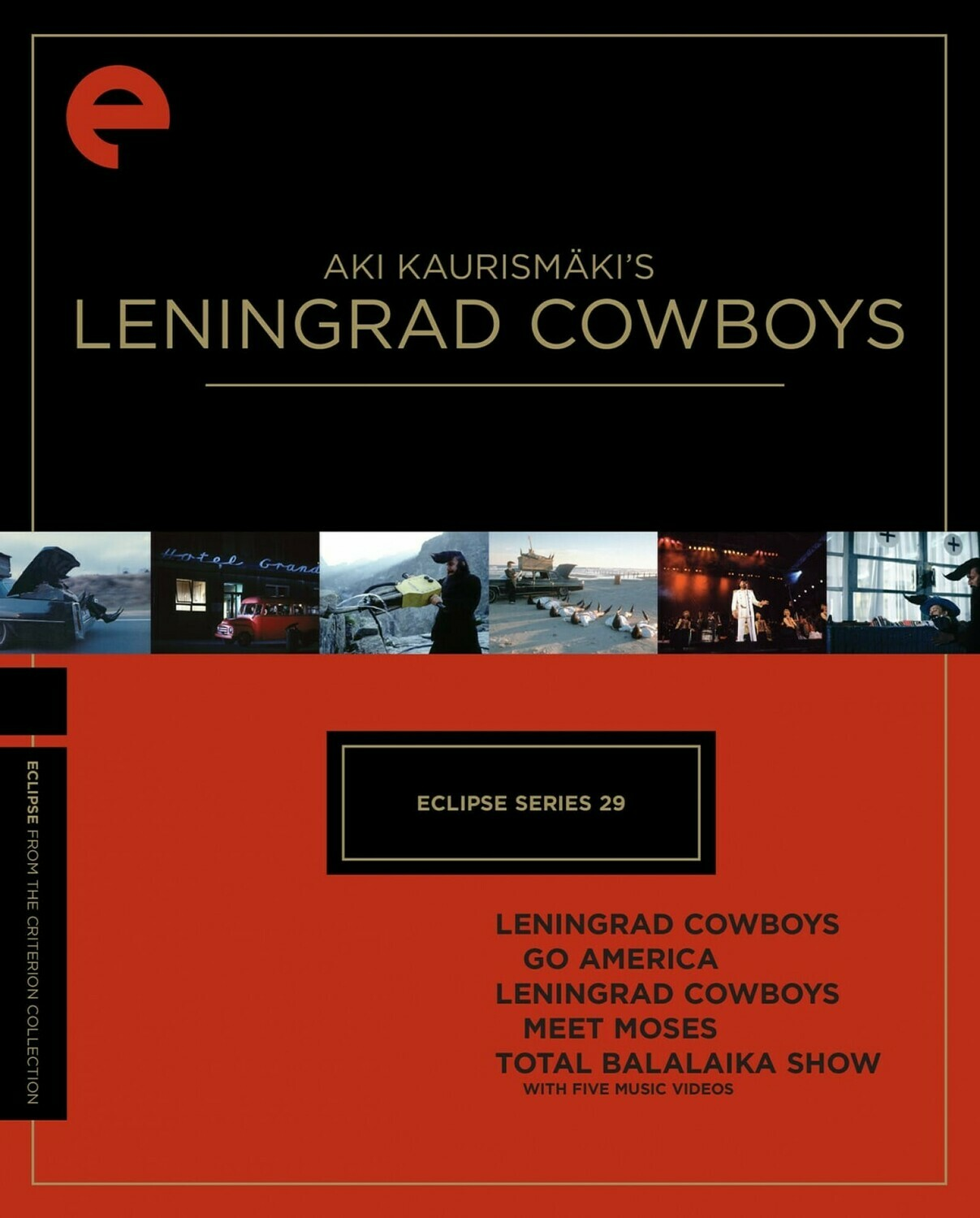 AKI KAURISMAKI'S - LENIGRAD COWBOYS - BOX SET - DVD