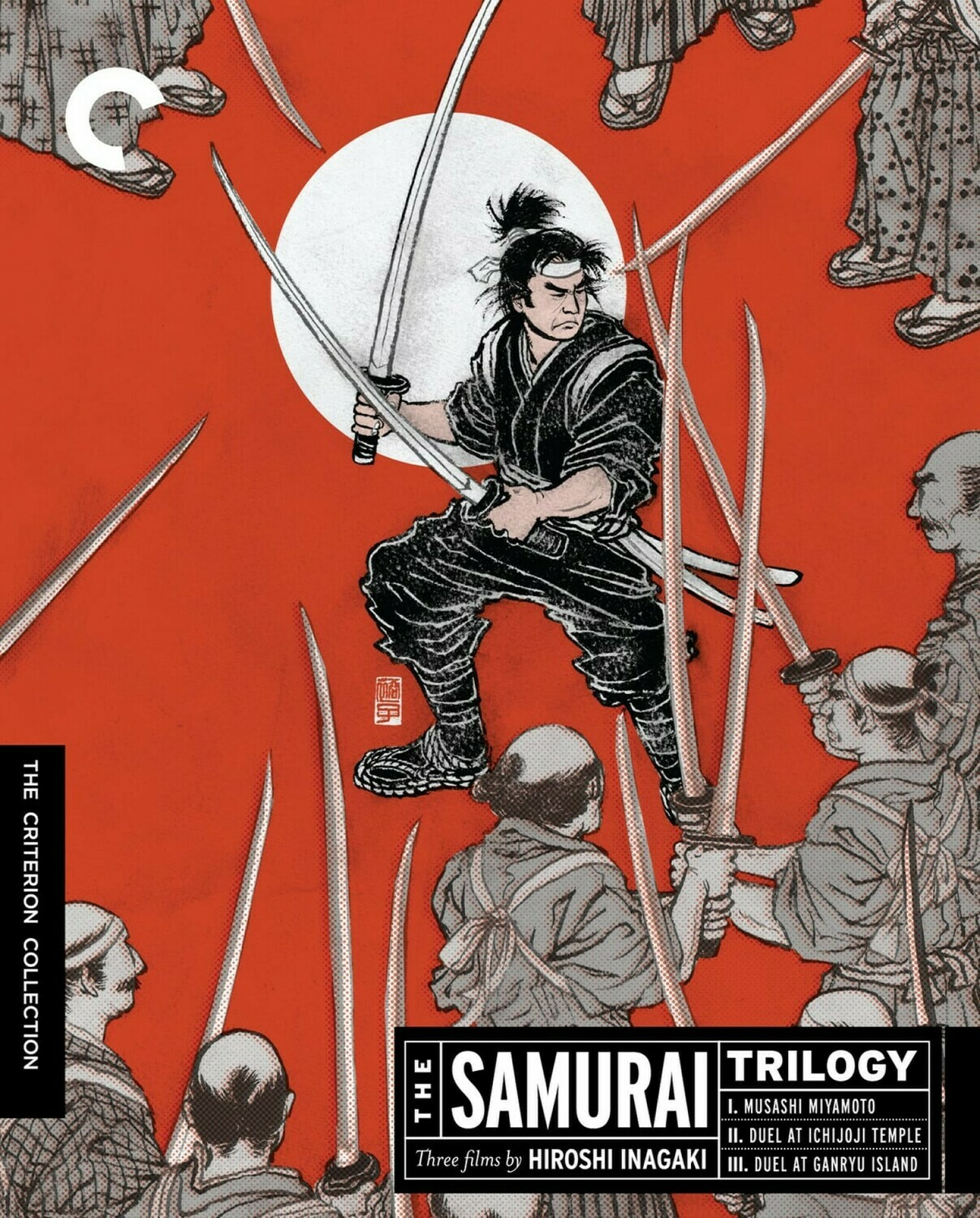 THE SAMURAI TRILOGY - BLURAY