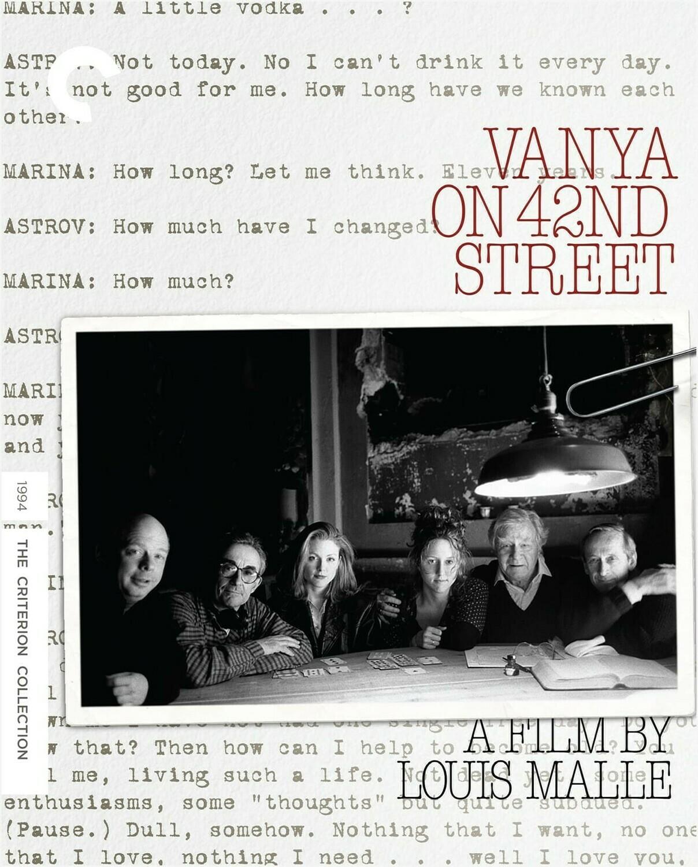VANYA ON 42ND STREET - BLURAY