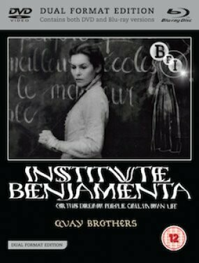 INSTITUTE BENJAMENTA - BLURAY