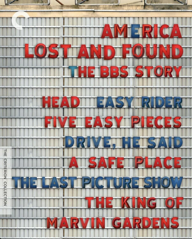 AMERICA, LOST AND FOUND - BOX SET - BLURAY