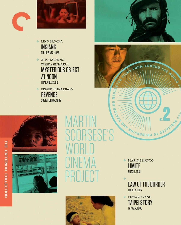 MARTIN SCORSESE'S WORLD CINEMA PROJECT - BOX SSET - BLURAY