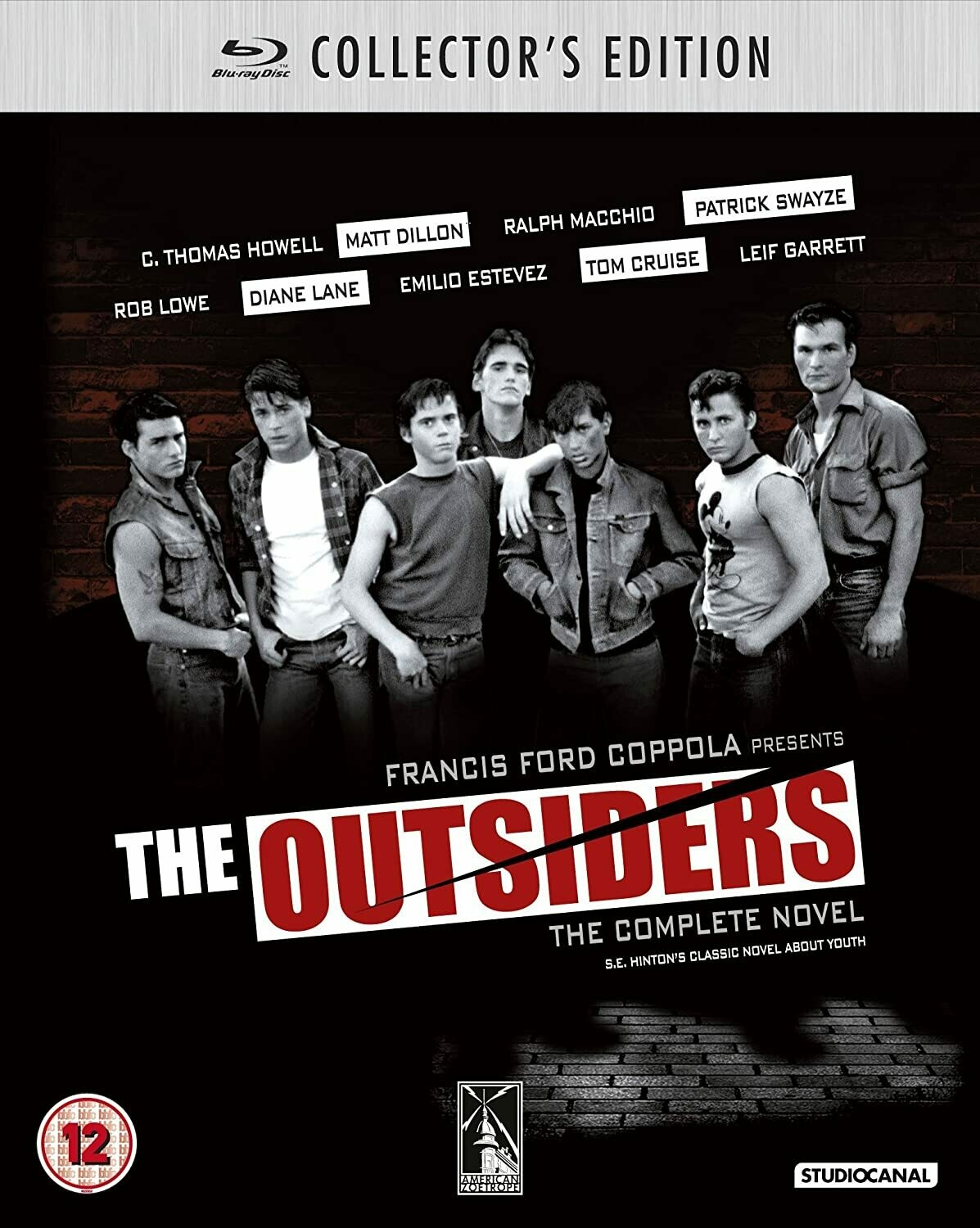 THE OUTSIDERS - SUPER SPECIAL EDITION - BLURAY