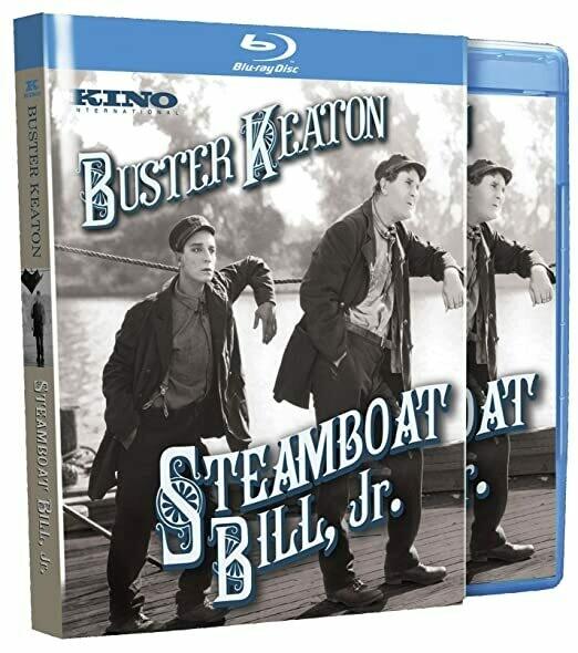 STEAMBOAT BILL JR. - BLURAY