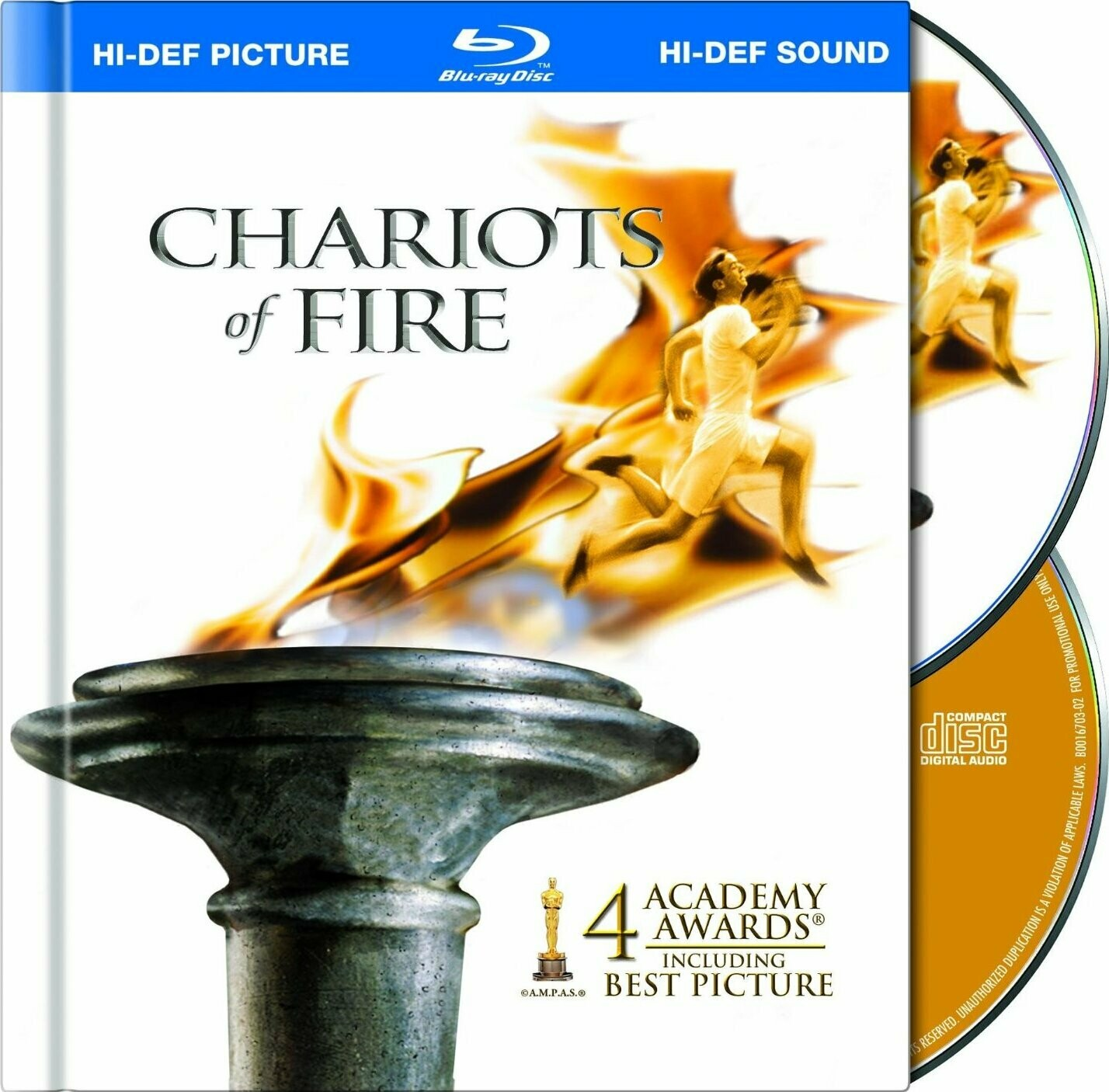 CHARIOTS OF FIRE - BLURAY