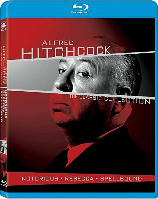 ALFRED HITCHCOCK - THE CLASIC COLLECTION - BOX SET - BLURAY