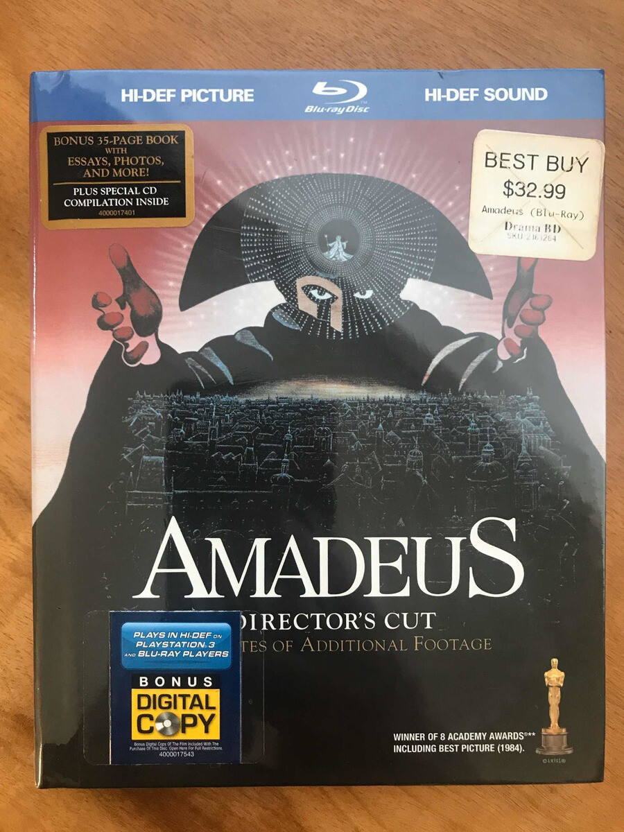 AMADEUS - BLURAY