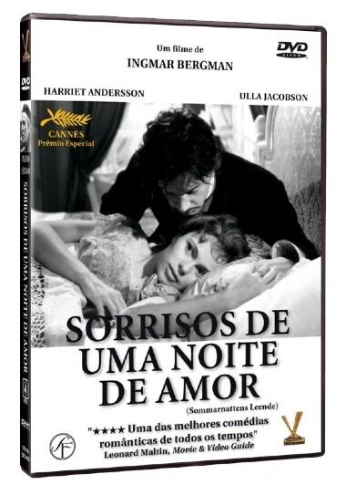 SORRISOS DE UMA NOITE DE AMOR - DVD