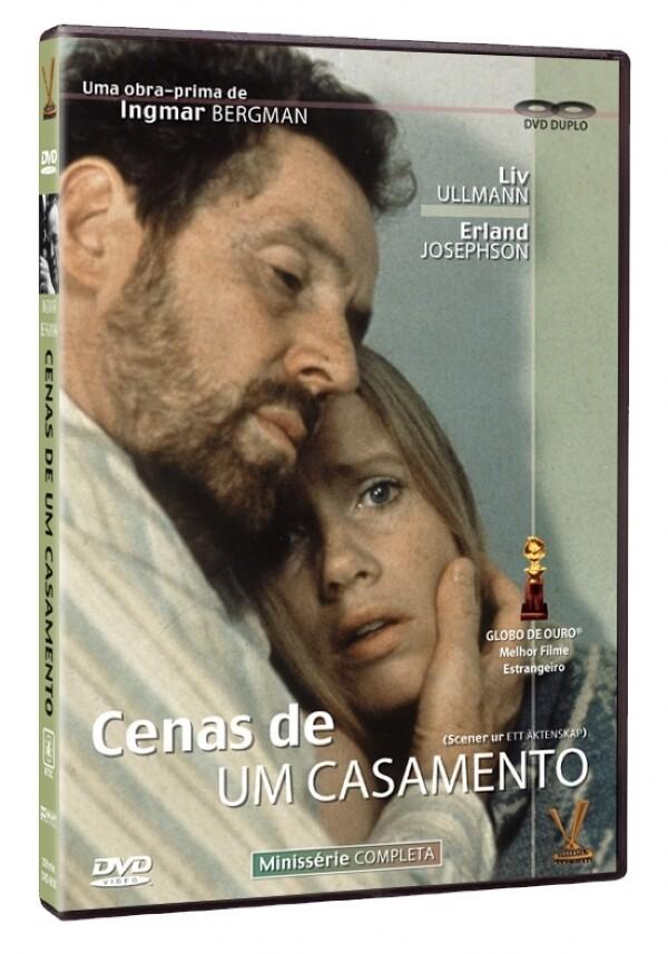 CENAS DE UM CASAMENTO - DVD