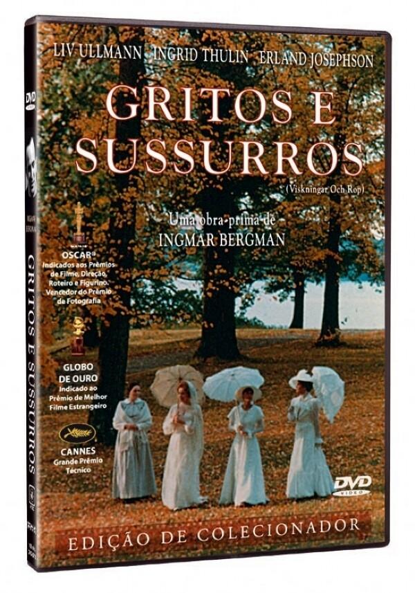 GRITOS E SUSSURROS - DVD