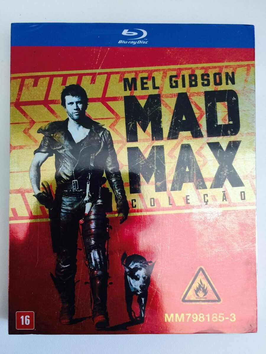 MAD MAX - COLECAO - BOX SET - BLURAY