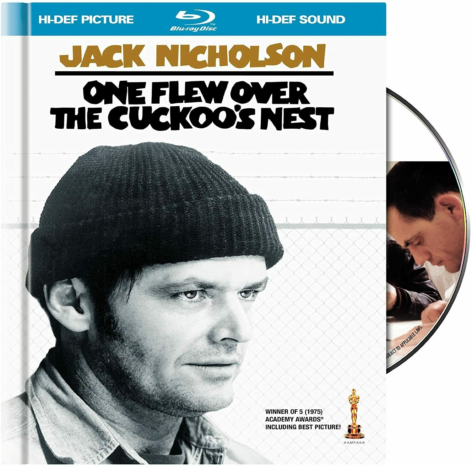 ONE FLEW OVER THE CUCKOO'S NEST - BLURAY
