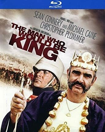 THE MAN WHO WOULD BE KING - BLURAY