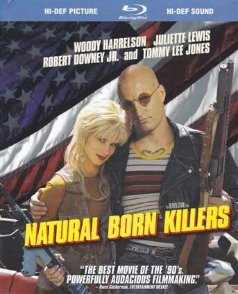 NATURAL BORN KILLERS - BLURAY