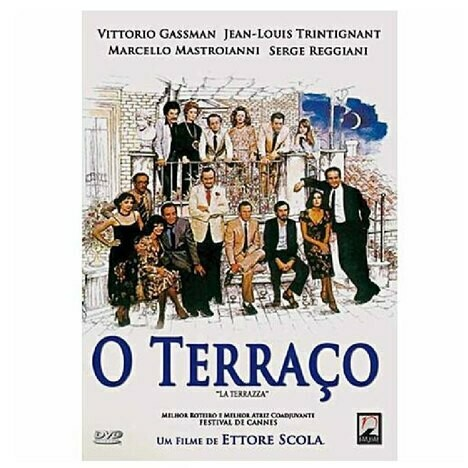 O TERRAÇO - DVD