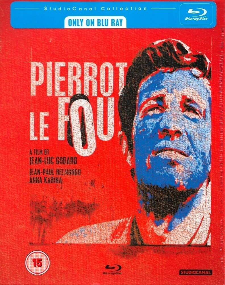 PIERROT LE FOU - BLURAY