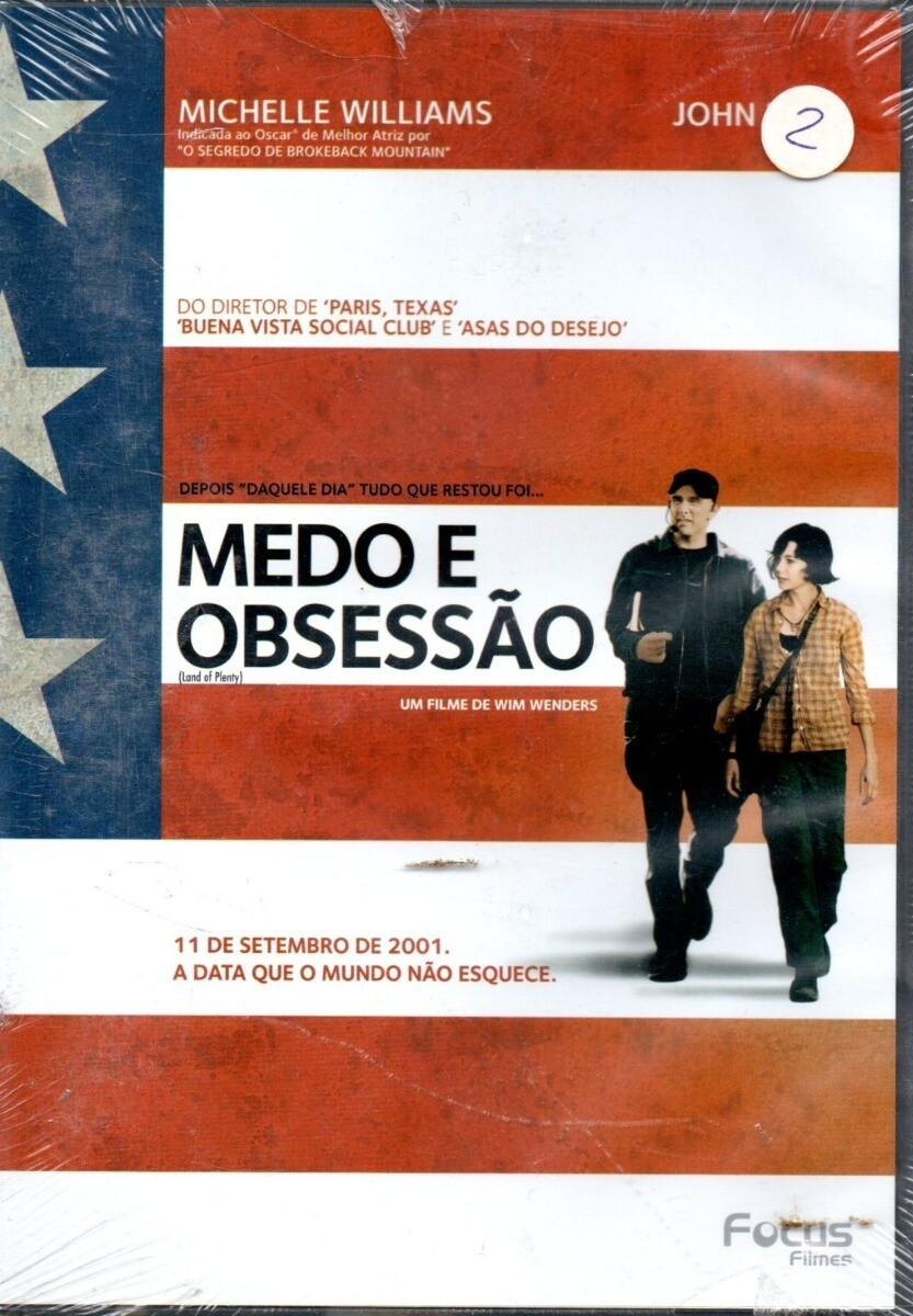 MEDO E OBSESSAO - DVD