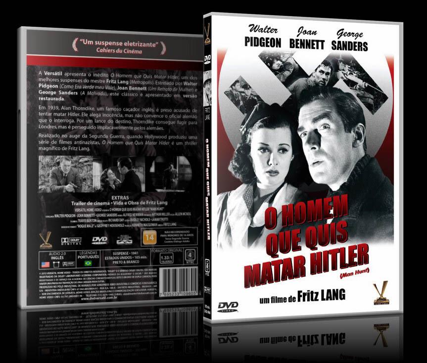 O HOMEM QUE QUIS MATAR HITLER - DVD