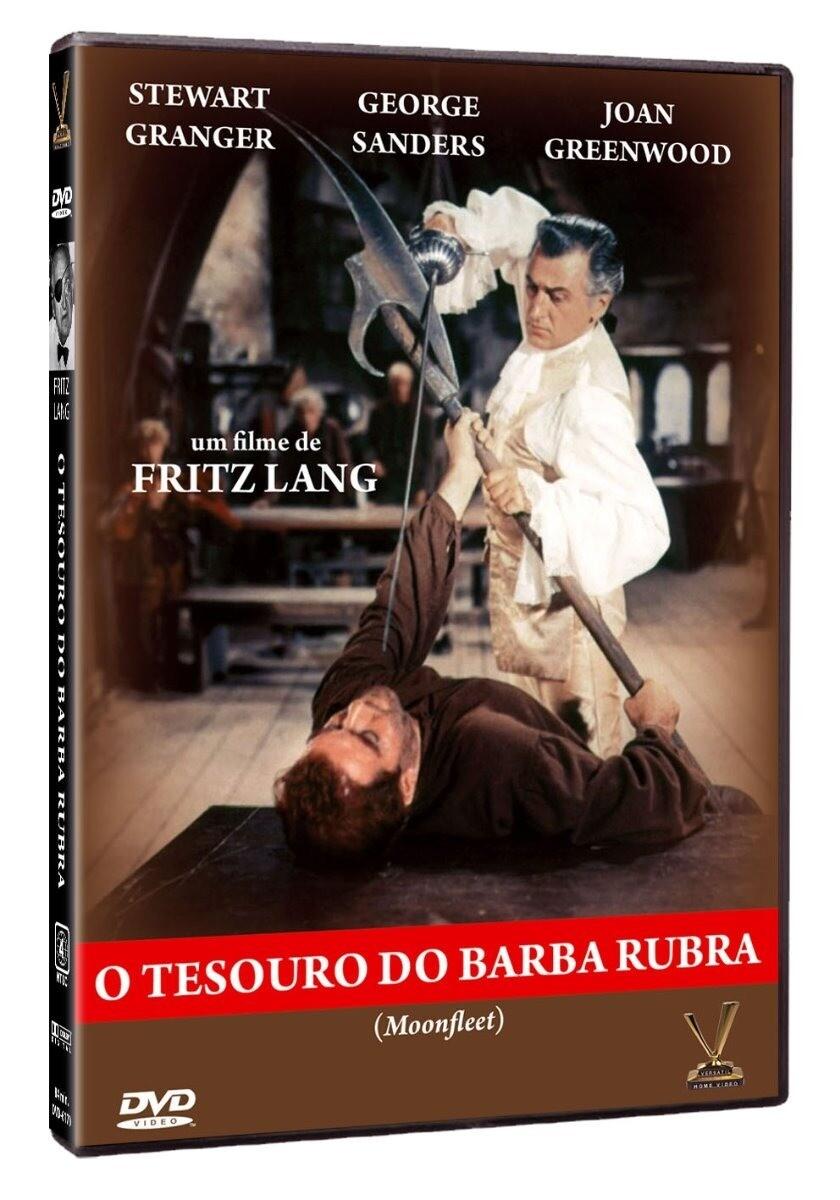 O TESOURO DO BARBA RUBRA - DVD