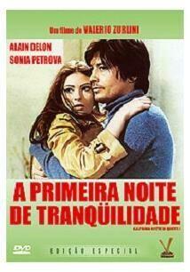 A PRIMEIRA NOITE DE TRANQUILIDADE - DVD