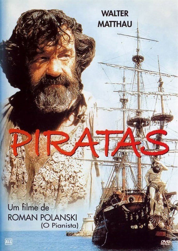 PIRATAS - DVD