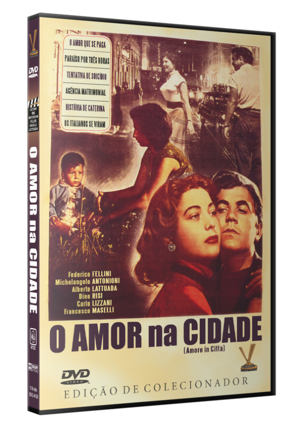 O AMOR NA CIDADE - DVD