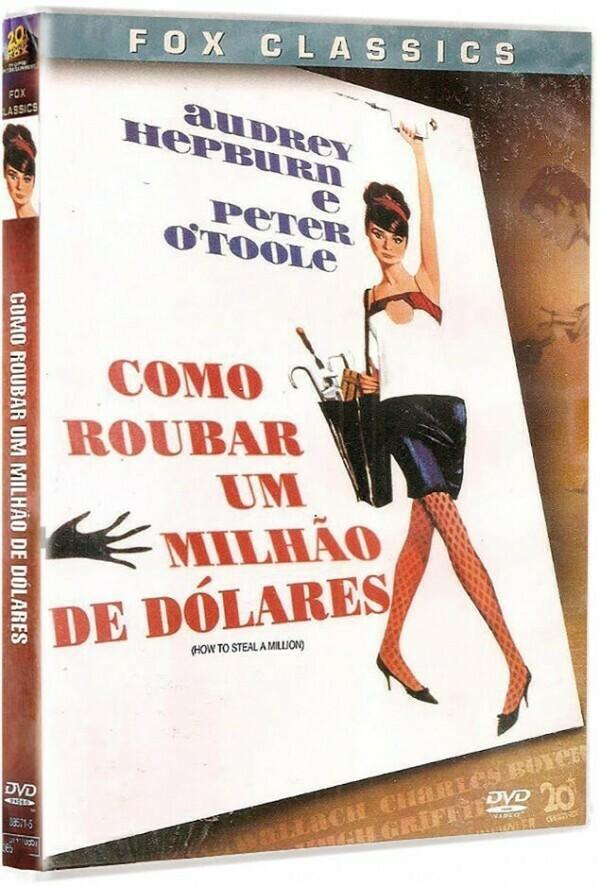 COMO ROUBAR UM MILHAO DE DOLARES - DVD