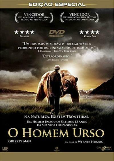 O HOMEM URSO - DVD