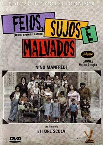 FEIOS, SUJOS E MALVADOS - DVD