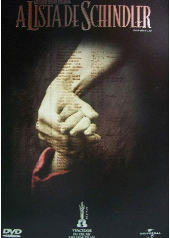 A LISTA DE SCHINDLER - DVD