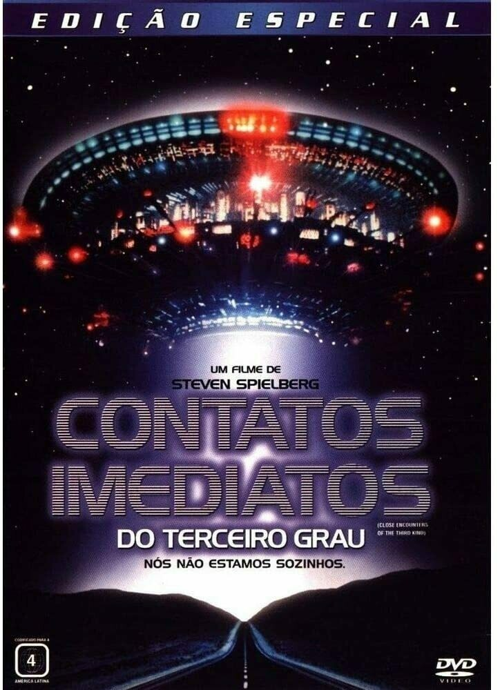 CONTATOS IMEDIATOS DO TERCEIRO GRAU - DVD