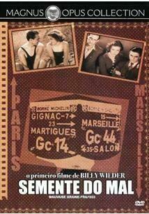 SEMENTES DO MAL - DVD