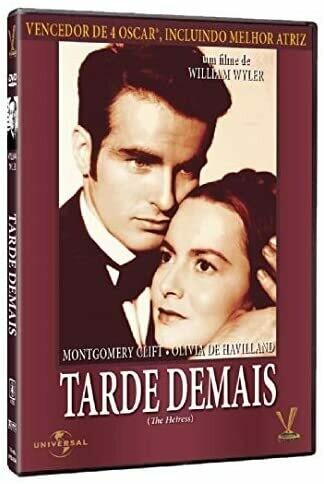 TARDE DEMAIS - DVD