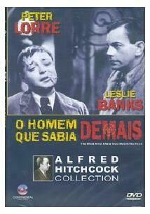 O HOMEM QUE SABIA DEMAIS - DVD