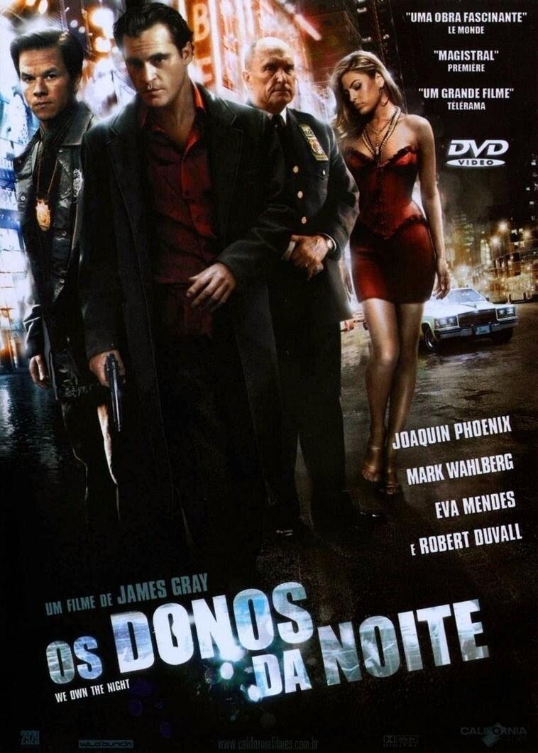 OS DONOS DA NOITE - DVD