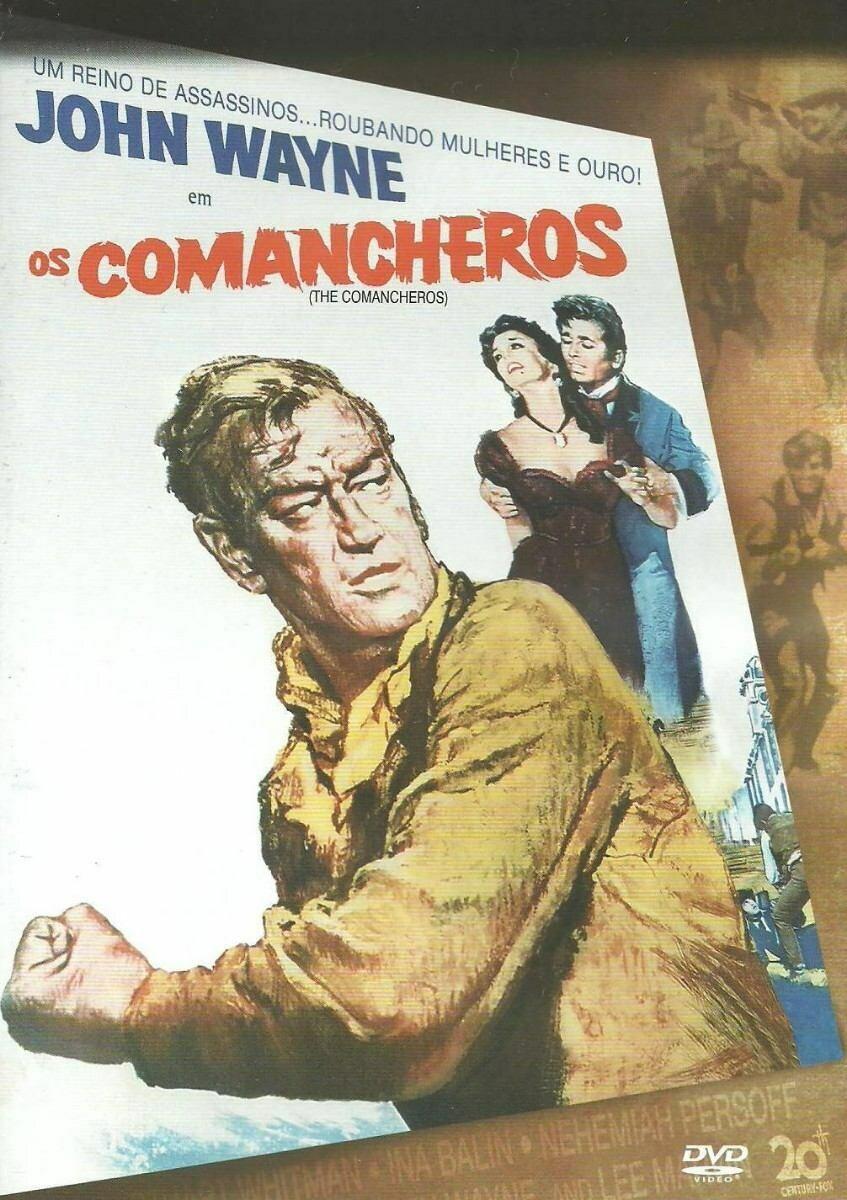 OS COMANCHEROS - DVD