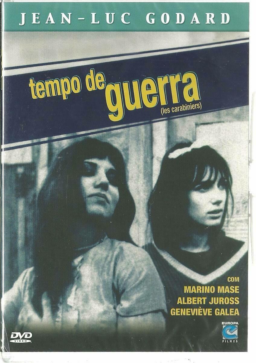 TEMPO DE GUERRA - DVD