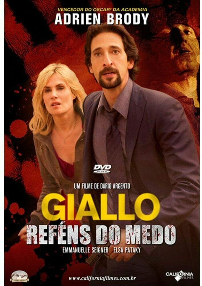 GIALLO REFENS DO MEDO - DVD