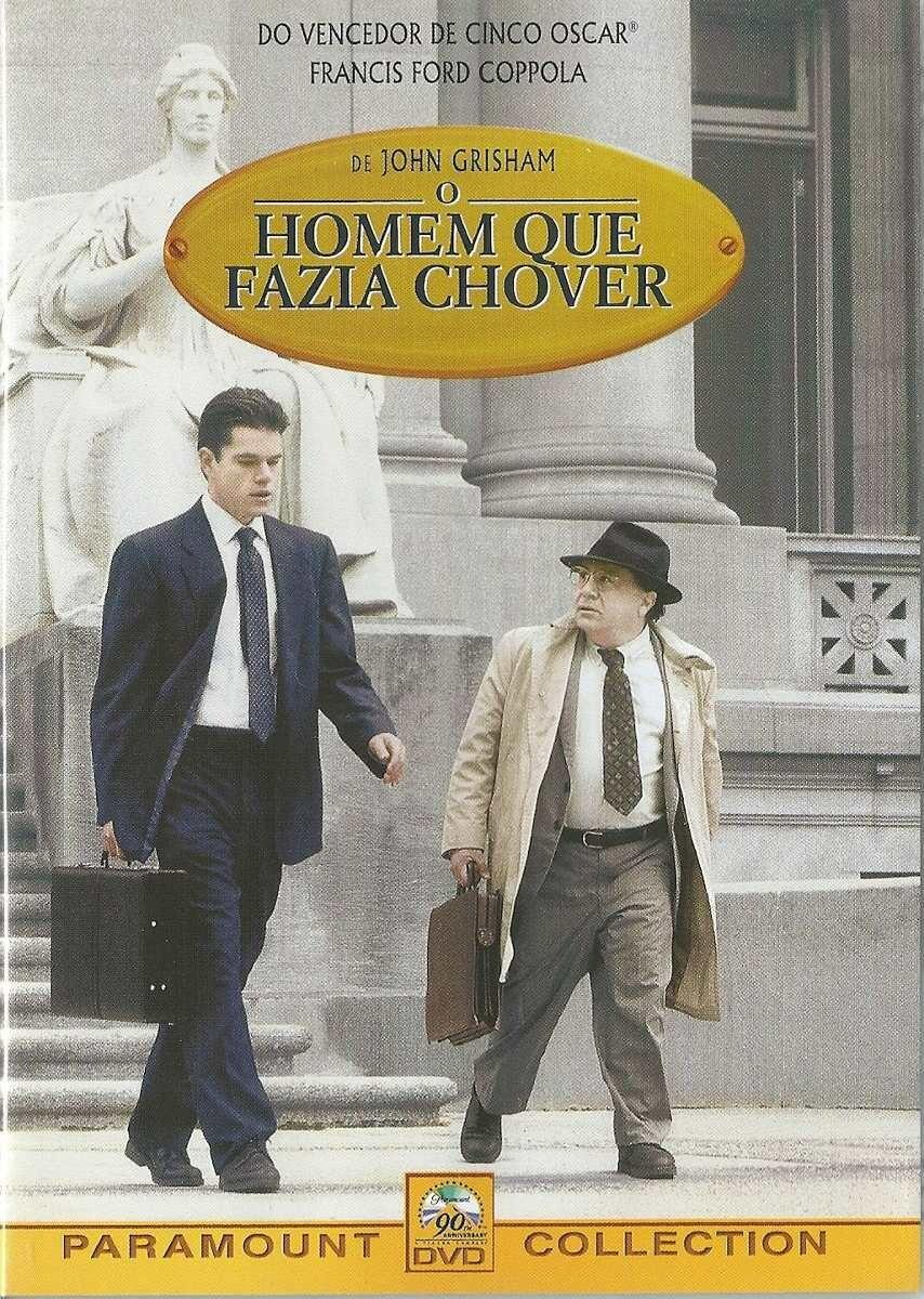 O HOMEM QUE FAZIA CHOVER - DVD