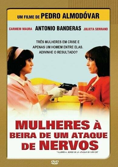 MULHERES A BEIRA DE UM ESTADO DE NERVOS - DVD
