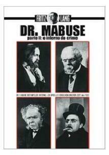DR. MABUSE PARTE II - O INFERNO DO CRIME - DVD