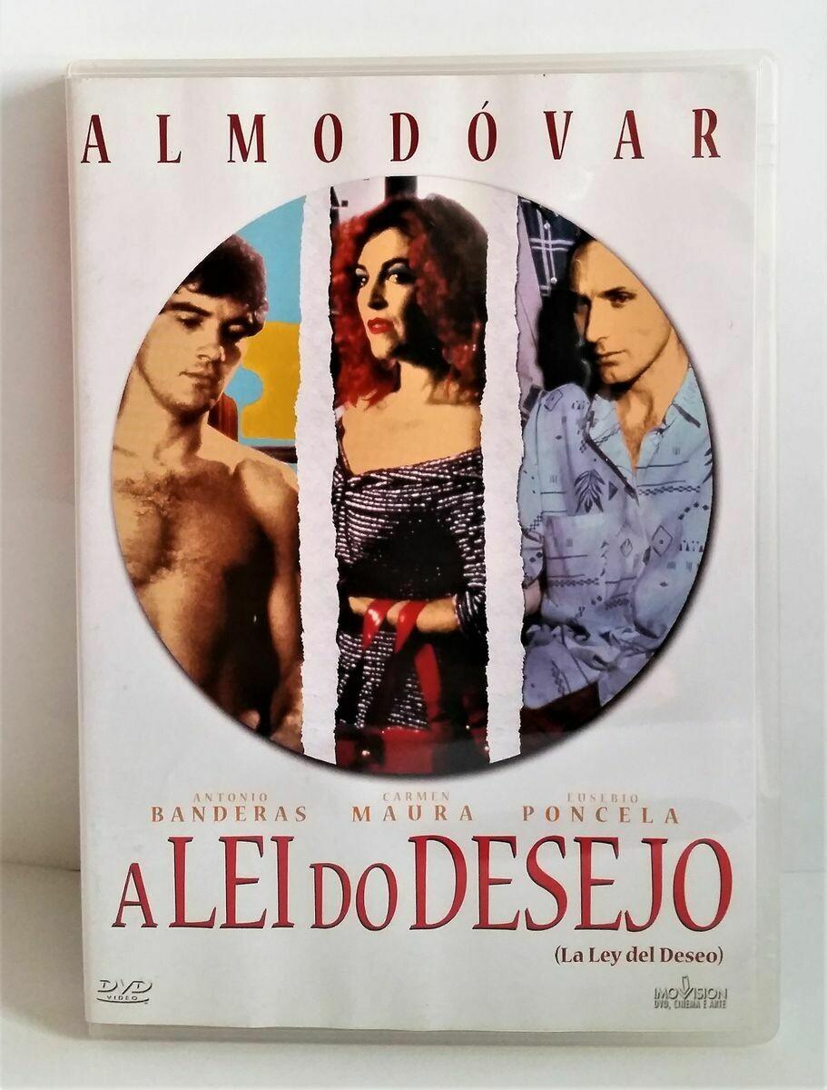 A LEI DO DESEJO - DVD