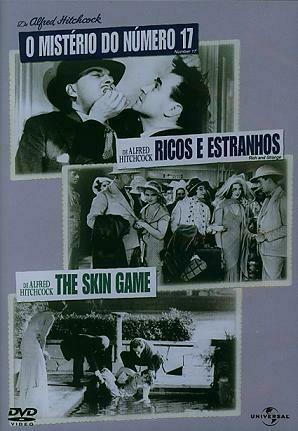 O MISTERIO DO N 17 / RICOS E ESTRANHOS / THE SKIN GAME - DVD