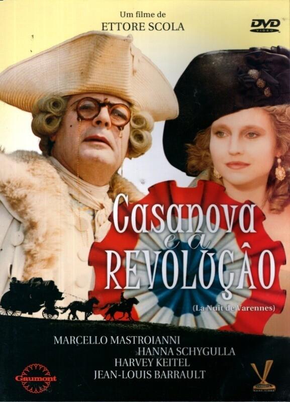 CASANOVA E A REVOLUCAO - DVD